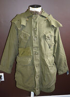 Used Canadian military parka Green Sz 1 short /  small ( ref#P5bte182 )