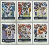 Denver Broncos 6 card 2016 Score SCORECARD parallel lot-all different