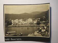 Abbazia - 1930 - Hotel Quarnero - Foto Kroatien