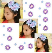 """16 Blessing Girl Boutique 5.5"""" Loopy Crytal Hair Bow Clip Accessories"""