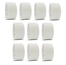 """2"""" x 55 yd White 10 Rolls Packaging Packing Tape Carton Sealing - Free Shipping"""