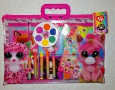 Ty Beanie Boo 12 Piece Color & Paint Tote Set - Free Shipping