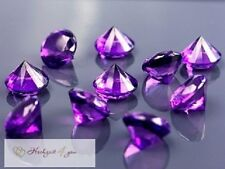 20mm Dekosteine Diamanten Hochzeit Kristall Streuteile Dekoration 2 cm Acryl