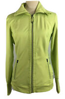 TANGERINE Womens Green Zip Run Athletic Active Jacket Yoga Size Medium EUC