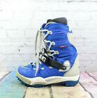 RIDE Men's Orion Snowboard Winter Snow Boots Blue Nylon Size 8.5