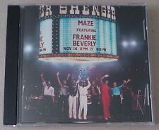 CD    *** MAZE featuring FRANKIE BERVERLY. LIVE IN NEW ORLEANS  ***
