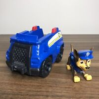 Paw Patrol Chase (Blue) Police Vehicle + Action Pup Figure