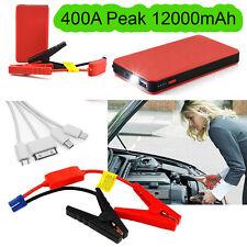 Battery Charger Car Portable Jump Starter Booster Jumper Box Power Bank 12V 400A