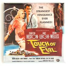 Touch of Evil Fridge Magnet (3 x 3 inches) movie poster