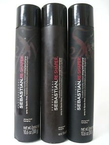 Lot of 3 SEBASTIAN RE SHAPER STRONG HOLD HAIRSPRAY 10.6 OZ (stains,dented)