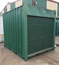 USED 10ft / 3m long 8'6 High shipping container / Portable storage shed