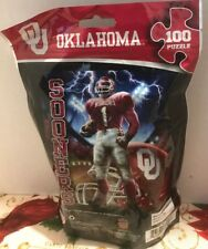Oklahoma Sooners Master Piece 100pc Puzzle New and Factory Sealed Free Shipping