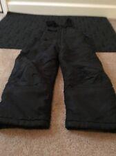 Artic Quest Snow Suit Bib Ski Bib Little Kids Sz 5/6 Black Clothes