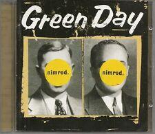 CD ALBUM 18 TITRES--GREEN DAY--NIMROD--1997