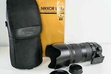 Nikon AF-S NIKKOR 70-200mm f/2.8E FL ED VR Lens - Mint Condition