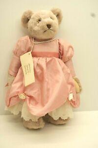 Artist Teddy Bear, Plush Fur, 1988, Martha Marilla Jointed, 14 in Carol Darling