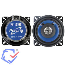 "Pack de altavoces para coche 2-vías 4"" Estéreo Woofer Tweeter 2x60W 4ohm 94mm"