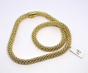 FOPE COLLANA ORO giallo18 KT  GOLD NECKLACE Goldkette D'OR COLLIER 黄金项链