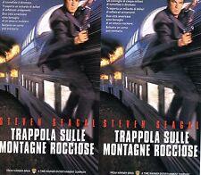 Trappola sulle montagne Rocciose (1996)  VHS Doppia in cofanetto SEAGAL