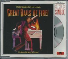 JERRY LEE LEWIS - Great balls of fire 3-INCH CD SINGLE 2TR 1989 RARE!!