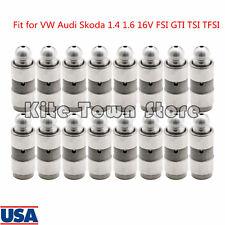 16x Hydraulic Lifters for 97-15 VW Audi Skoda 1.4T 1.6T 16V FSI GTI TSI TFSI US