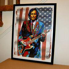 Ron Blair, Tom Petty & the Heartbreakers, Bass, Guitar, Rock, 18x24 POSTER 2