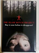 The Blair Witch Project Button Pin Movie Dvd Vhs Video Store Promo Promotional