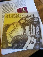 "Metamorphosis EP Peru Hardcore Vinyl 7"" Touche Amore La Dispute"