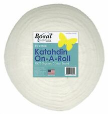 Bosal Katahdin Batting On A Roll-2.25 inches wide by 50 yds-For Jelly Roll Rugs