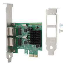 Dual-Port PCI Express PCI-E X1 Gigabit Ethernet Network Card 10/100/1000Mbps RH