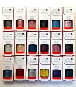CND Shellac UV Nail Gel Polish 7.3 ml All Colours - Same Day Dispatch 1st Class
