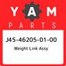 J45-46205-01-00 Yamaha Weight link assy J45462050100, New Genuine OEM Part