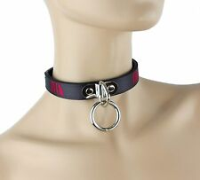 ID Bondage Collar Fetish Choker Punk Gothic Rock Sexy Name Necklace Fetish BDSM