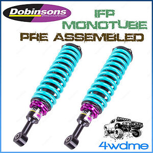 "Isuzu Dmax 2012 on 4WD Dobinsons IFP Adjustable Front Preassembled 2"" 3"" LIFT"