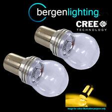 382 1156 BA15S 245 P21W AMBRA 3 CREE ANTERIORE FRECCIA LAMPADINE fi203301