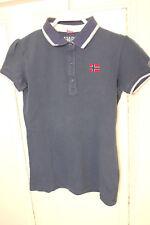 NAPAPIJRI T-Shirt Poloshirt Blau  Gr.14 / 164 (HG122)