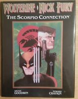 Wolverine Nick Fury The Scorpio Connection Hardcover 1989 Marvel dust jacket