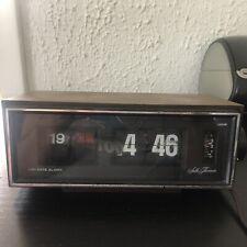 Seth Thomas 0861-000 Flip Clock Speed Read Day-Date Alarm Made in Japan Working
