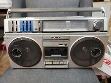 Vintage sony boombox