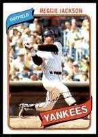 1980 Topps Reggie Jackson New York Yankees #600