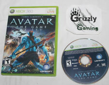 USED James Cameron's Avatar The Game Microsoft XBOX 360 Tested and Working!