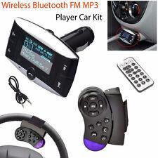 1.5''LCD Car Kit MP3 Player Bluetooth FM Transmitter Modulator SD MMC USB  D5G7