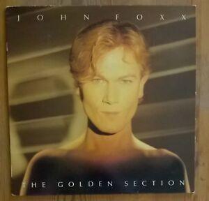 John Foxx – The Golden Section Vinyl LP Album 33rpm 1983 Virgin V2233
