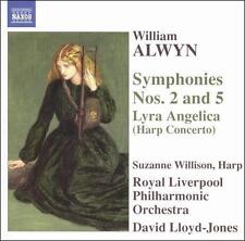 William Alwyn: Symphonies Nos. 2 & 5; Lyra Angelica (Harp Concerto), New Music
