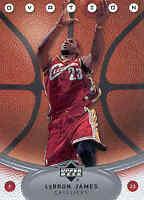 2006-07 Upper Deck Ovation Cleveland Cavaliers Basketball Card #13 LeBron James