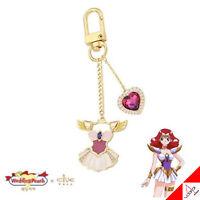 Clue X Wedding Peach Angel Salvia Brass Key Ring Jewelry Keyring Authentic
