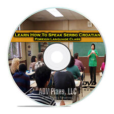 Learn How To Speak Serbo Croatian, Fluent Foreign Language Class, DVD E14