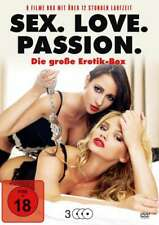 Sex. Love. Passion. (9 Filme auf 3 DVDs) Erotik Box Neu/OVP