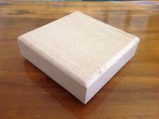 "8 New Red Oak Newel Post Cap 4 3/4'' X 4 3/4"" Square"