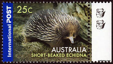 2006 Short Beaked Echidna 2nd Reprint Tab Selvedge MUH Mint Stamps Australia